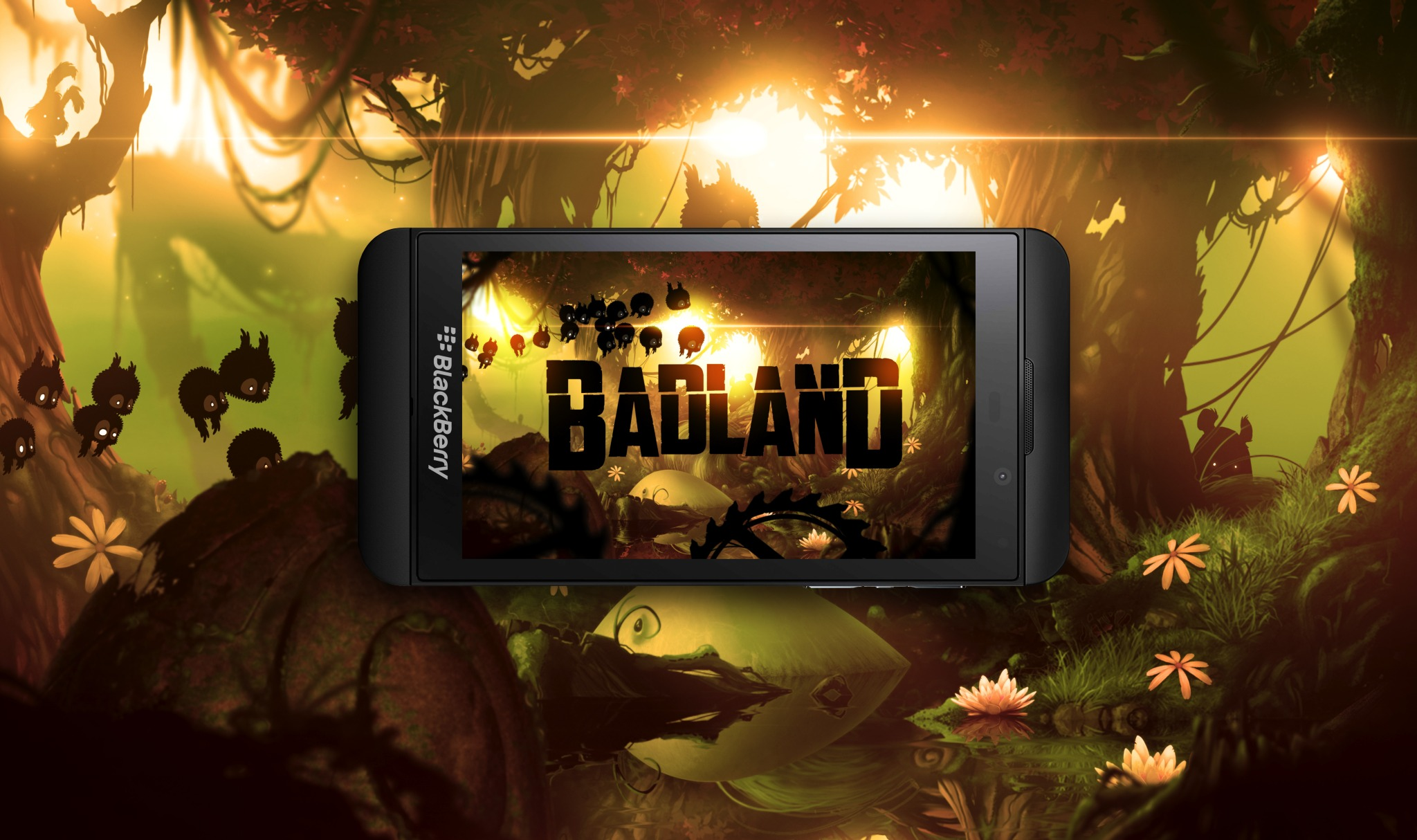 Badland on BlackBerry